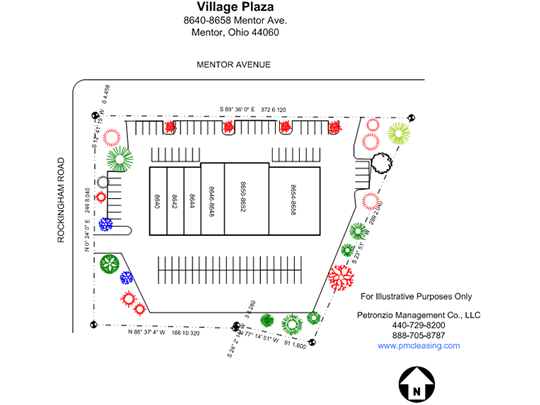 Village Plaza Site Plan